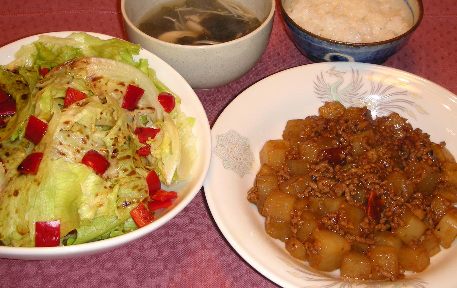 麻 婆 豆腐 と もう 一品